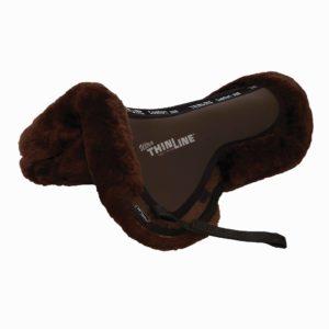 Full Sheepskin Trifecta Correction Half Saddle Pad