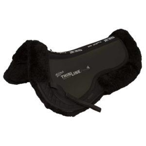 sheepskin comfort saddle pad thinline